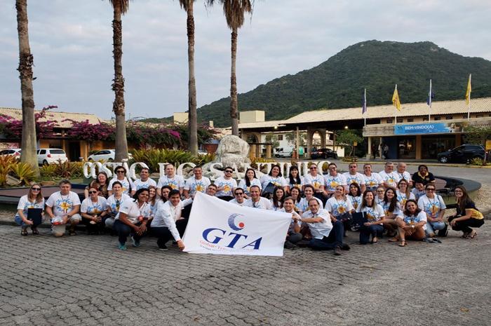 Os profissionais desfrutaram de três dias no resort com direito à pensão completa