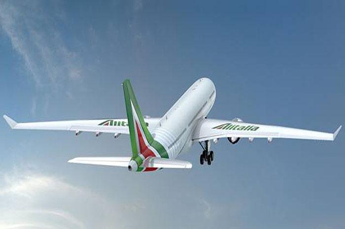Avião Alitalia