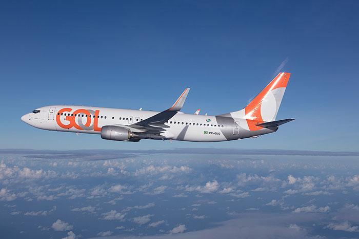 Aeronave 737-800 da Gol