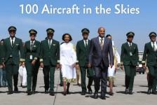Ethiopian anuncia chegada de sua 100ª aeronave