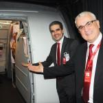 A Avianca dá as boas-vindas aos passageiros que passam a voar para Belém através de suas asas