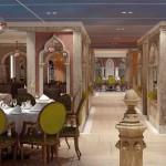 A gastronomia fica por conta do Marco Polo Restaurant