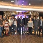 Agentes e operadores brasileiros convidados para a inauguração do MSC Seaview