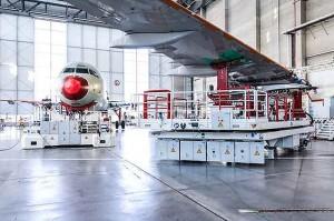 Airbus aumenta produção da Família A320 com nova linha de montagem