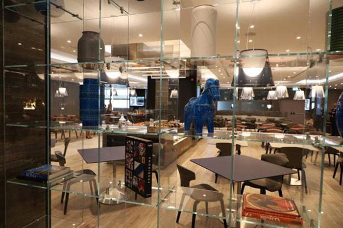 Novo lounge Casa Alitalia é inaugurado no aeroporto Leonardo da Vinci em Roma