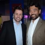 André Khouri, da CNT, e Eduardo Kina, da Alatur JTB