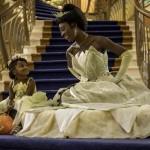 As princesas também participam da festa