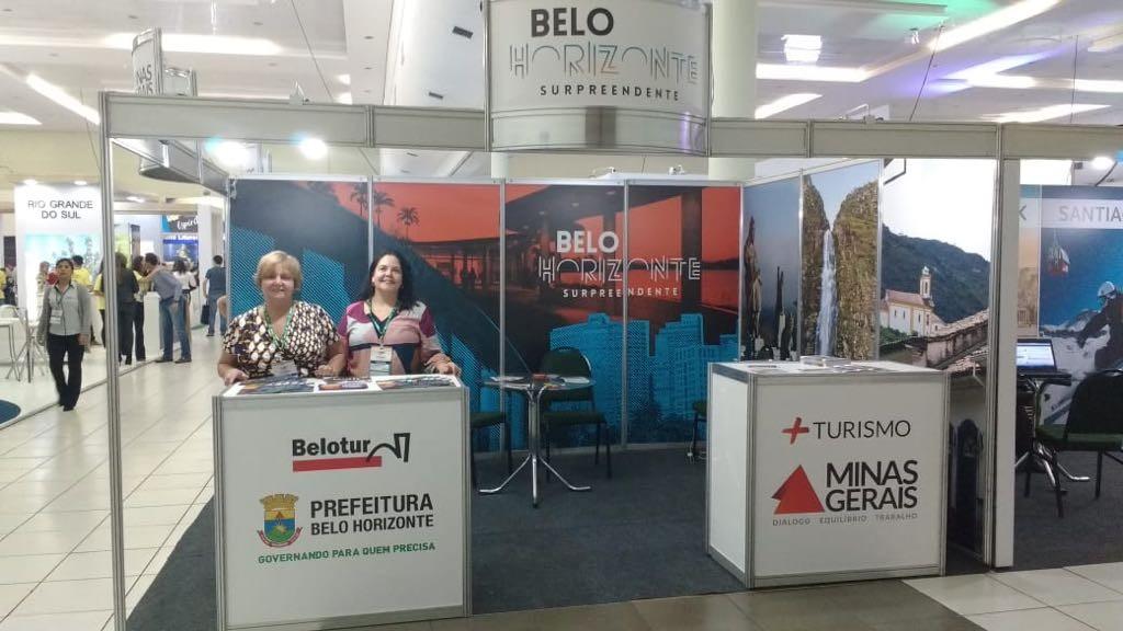 Estande de Belo Horizonte no Festival das Cataratas (Foto Divulgação)