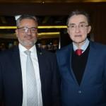 Bob Santos, do MTur, e Eraldo Alves da Cruz, da CNC