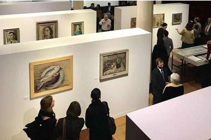 """The Art of Diplomacy: BraziIian Modernism Painted for War"" exposta também na sede da Embaixada"