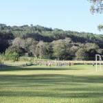 Campos para prática de esportes