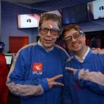 Cassio Oliveira, da Ancoradouro, e Bob Rossato, da ViajaNet