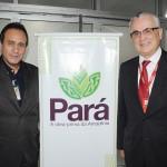 Ciro Góes, secretário de Turismo do Pará, e Tarcísio Gargioni, VP de Marketing e Vendas da Avianca