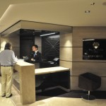 Concierge do MSC Yacht Club, que pode ser definida como área de luxo do MSC Seaview