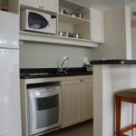 Cozinha do Marriott Executive Apartments