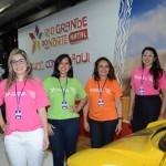 Dalila Queiroz, Dayane Murielle, Ana Rita Salgado e Nayara Santana, do Governo do RN