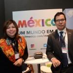 Diana Pomar e Gabriel Lopez, do Turismo do México
