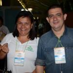 Eliane Almeida, da Real Classic, e Luciano Lapa, da Lapa Turismo