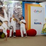 Estande da Bahia sempre traz suas atrações culturais