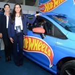 Fabíola Schneider, Kátia Leães e Rafaela Marques, do Beto Carrero World