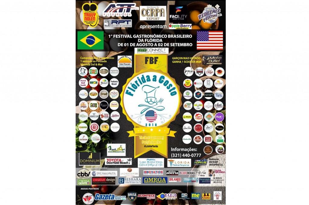 Evento acontece entre os dias 1º de agosto e 2 de setembro
