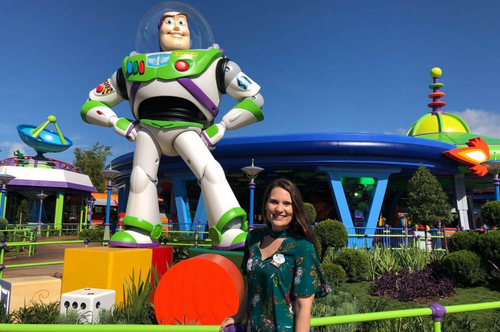 Gabriela Delai, gerente de Treinamento Disney Destinations para o Brasil