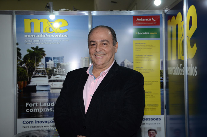 Geraldo Rocha, presidente da Abav