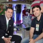 Gilmar Piolla, secretário de Turismo de Foz do Iguaçu, e Philip