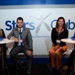 Giovana Mikelaitis, da Leadinh Hotels, Tiago Grandizolli, da British Airways, Ana Paula, da American Airlines, e Paula Caetano, da Mobility