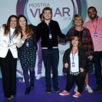 Gisele Lima com os youtubers convidados