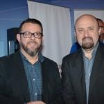 Gladston Assis e Sandro Gonçalves, da Maringá Turismo