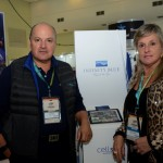 Luis Calle e e Belita Teixeira, do Infinity Blue