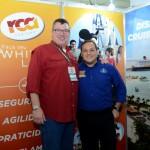 Luis Ignacio, da RCA, e Luiz, da Disney