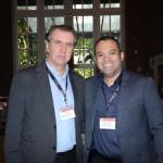 Luiz Costa, conselheiro do TMG, e Peterson Prado, da Avipam Turismo