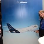 Magda Moraes e Christina Binnie, do Grupo Lufthansa