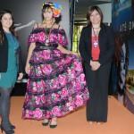 María Jiménez e Diana Pomar, do Turismo do México