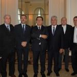 Nelson Abreu, Nilo Félix, Richard Nunes, Vinicius Lummertz, Alfredo Lopes, Paulo Protássio, Carlos Kerbes e Marcelo Alves