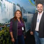Neumari Moraes e Washington Sena, de Foz do Iguaçu
