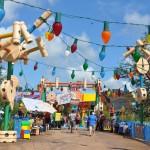 Nova atração Toy Story Land