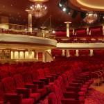 O teatro do Costa Venezia é inspirado no La Fenice, de Veneza