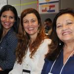 Patrícia Masch, Andrea Revoredo e Marcia Pessoa, do RioCVB