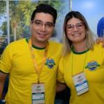 Pedro Road e Vivian Lima, do Grupo Rio Quente