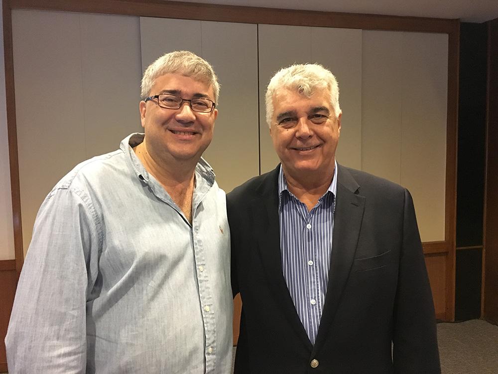 Presidente e Conselheiro Jose Manuel Caamano