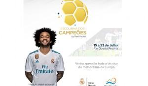 Rio Quente Resorts oferece escolinha de futebol do Real Madrid durante as férias de julho