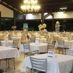 Restaurante com capacidade para 500 hóspedes