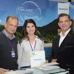 Ricardo Fazzini, Daniela Martins e Luis Maio, de Ilhabela