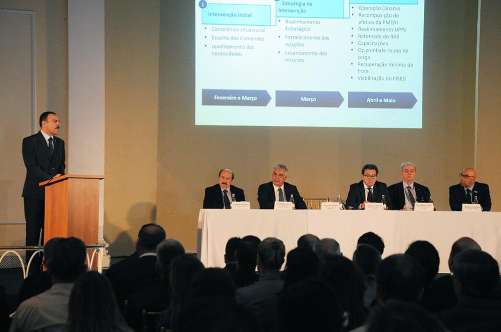 Richard Nunes, secretário de Segurança do RJ, apresenta resultados alcançados com intervenção federal