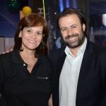 Sandra Passetto, da Air Canada, e Emerson Sanglard, da Copa