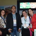 Silvana, da D´Travel Viagens, Paula Floriano e Claudio Junior, do Festival do Turismo Jpa, e Renata Rio, agente e Viagem de Jundiaí-SP