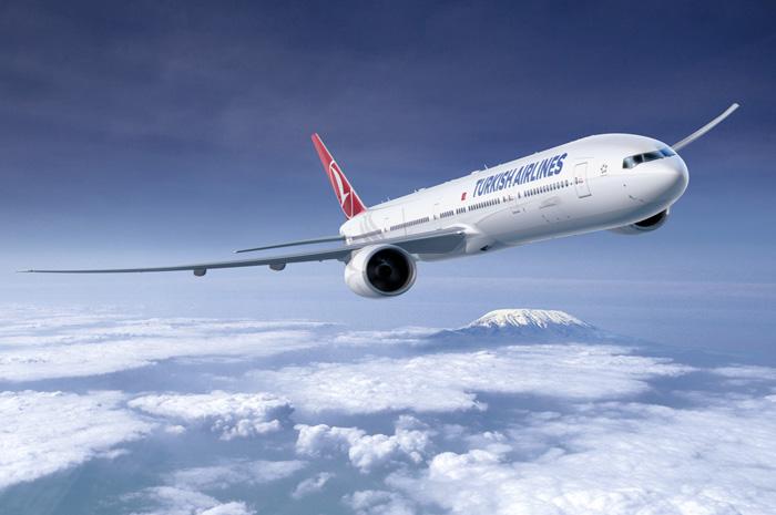 Avião Turkish 777-300ER